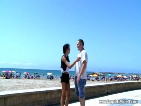 Imagem Tumblr sexo Muito sexo na praia com uma gringa novinha