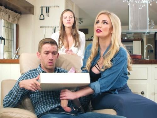 Imagem Vidios de sexo gratis Novinhas assediando um entregador de pizza